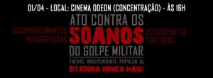 ato contra 50 anos do golpe