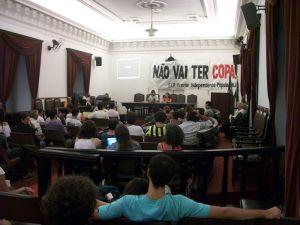 Ato contra a criminalização da FIP-RJ e da juventude combatente contou com a participação de diversas organizações populares