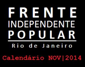 calendário nov de 2014