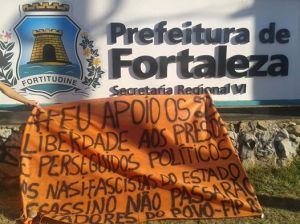 Fortaleza, ceará - campanha pelos presos políticos
