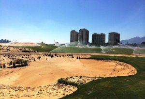 ocupa golfe irrigação